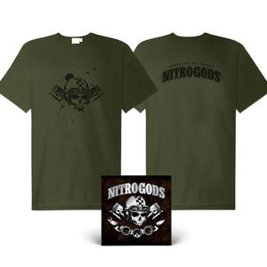 Nitrogods - Self-titled (CD + shirt Bundle)
