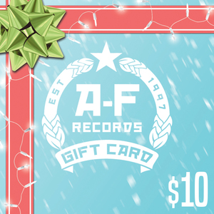$10 A-F Records Digital Gift Card