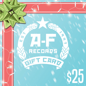 $25 A-F Records Digital Gift Card