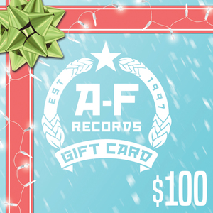 $100 A-F Records Digital Gift Card