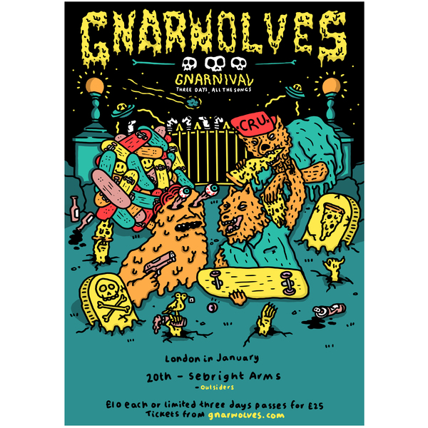 Gnarnival tickets - 20th January 2018 @ Sebright Arms