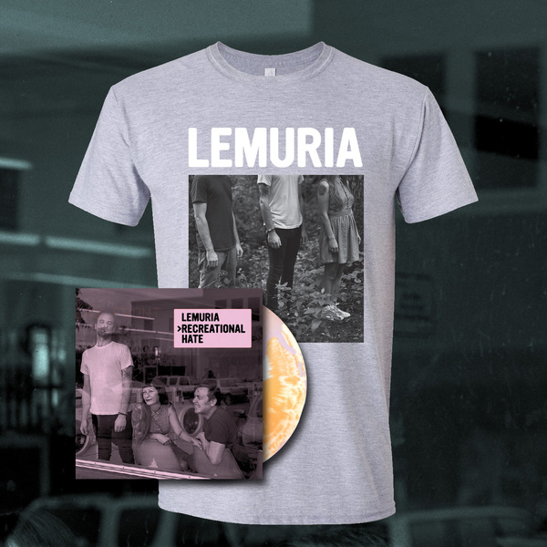 Lemuria - Recreational Hate LP/CD + T Shirt Bundle