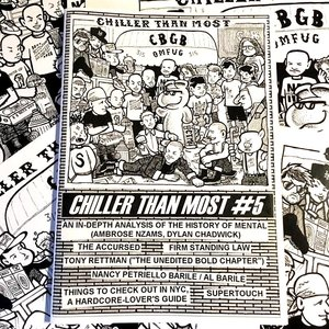 CHILLER THAN MOST FANZINE #5 [Zine]
