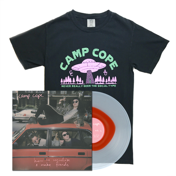 Camp Cope - How to Socialise & Make Friends - Shirt Bundle