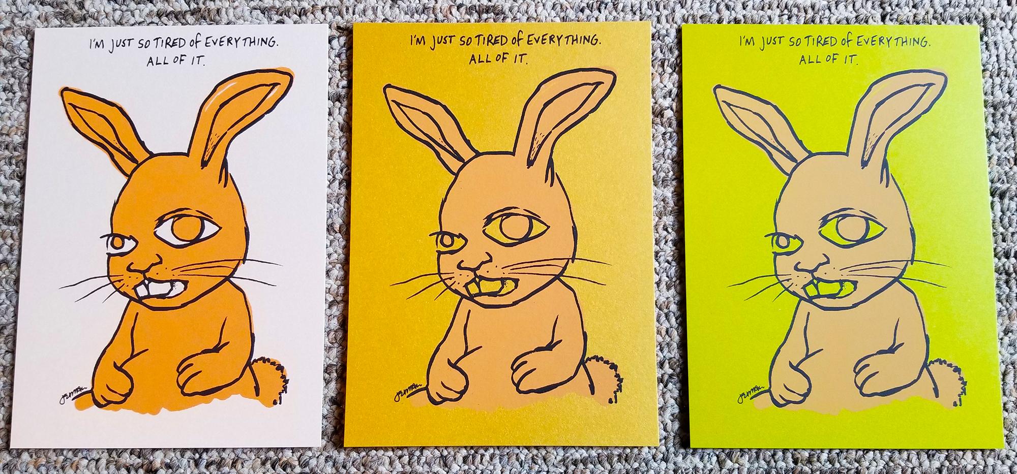 - NEW - 'Lamentation Of The Common Animal' Mini Art Print