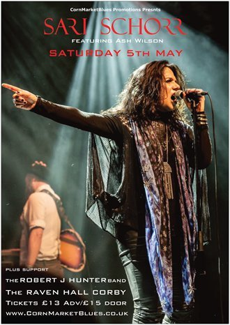 Sari Schorr + Support (18+ age limit)