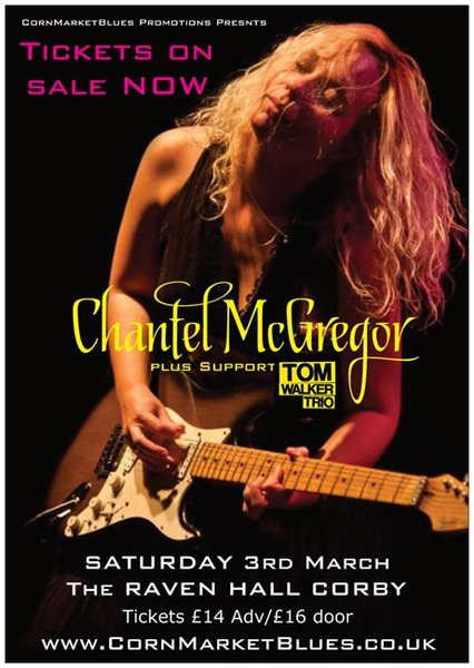 Chantel McGregor + Support (18+ age limit)
