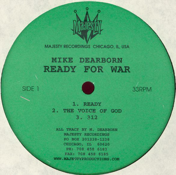 Mike Dearborn – Ready For War (Majesty Recordings)