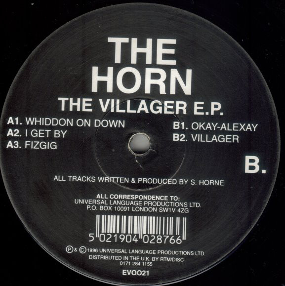 The Horn ‎– The Villager E.P. (Evolution)