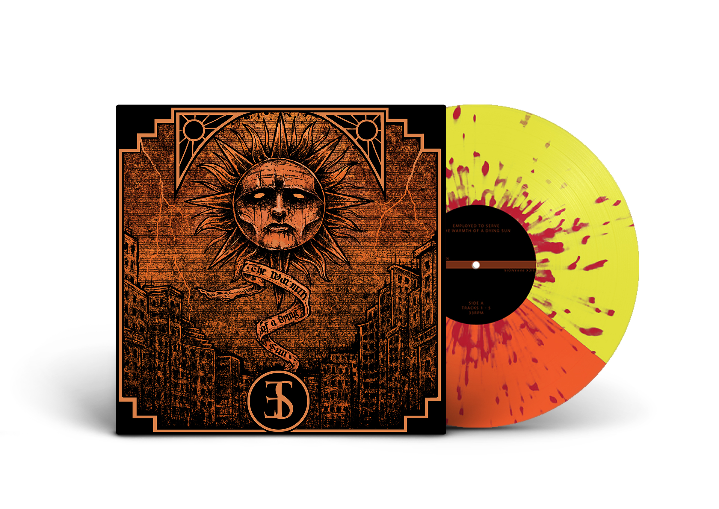 Employed To Serve - The Warmth Of A Dying Sun LP 2ND PRESSING