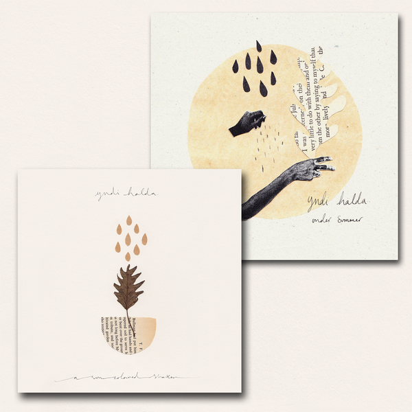 yndi halda - Under Summer 2XLP & A Sun Coloured Shaker EP LP Bundle