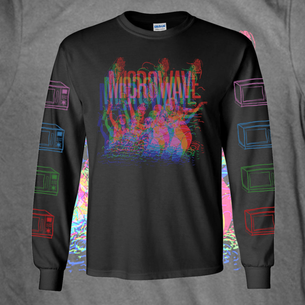 Trippy Visuals Long Sleeve T Shirt