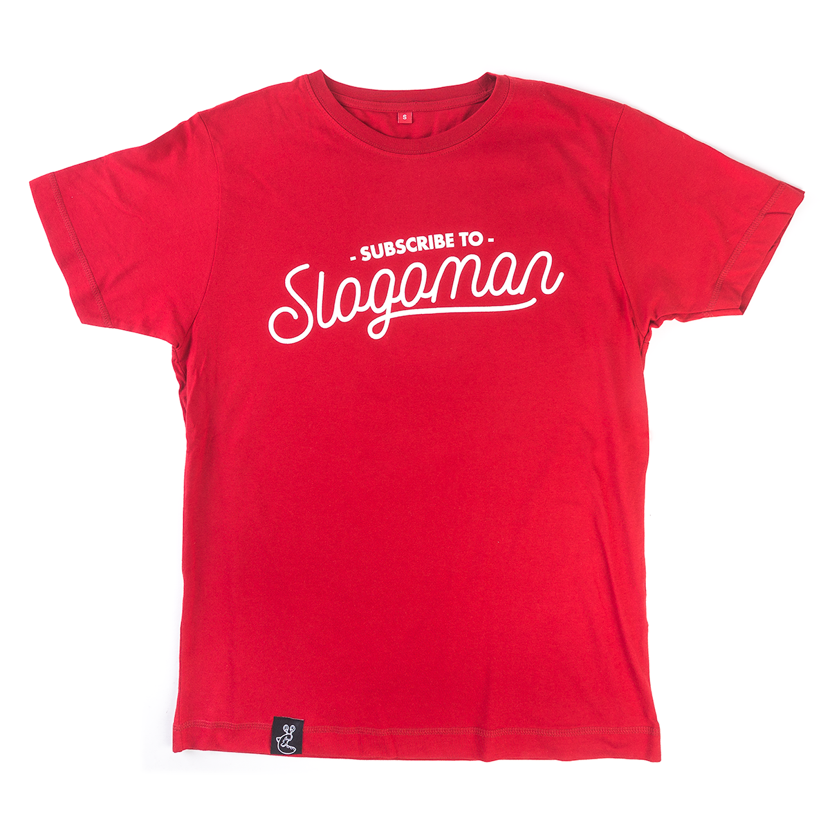 Subscribe to Slogoman T-Shirt (Red)
