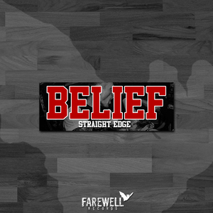 BELIEF ´Straight Edge´ [Sticker]