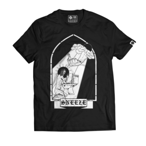 Sneeze - Black Window T-shirt (Black)