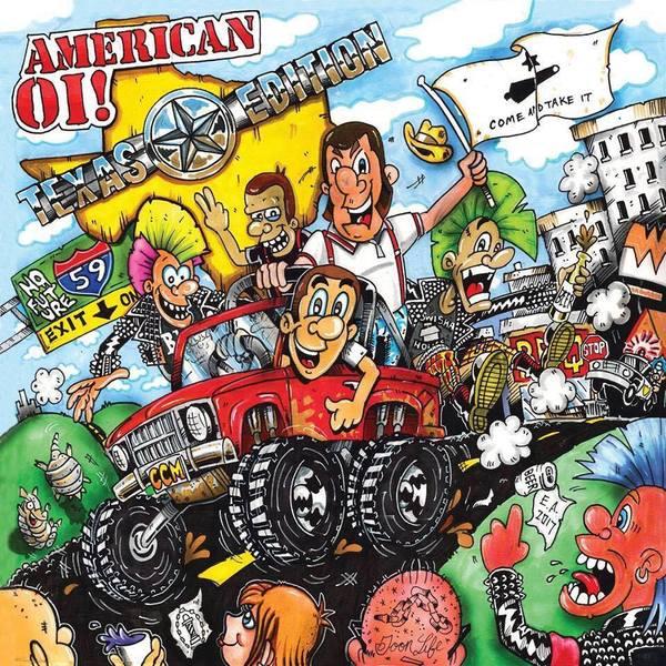 V/A - American Oi!, Texas Edition! LP