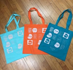 Multi Logo Tote Bag