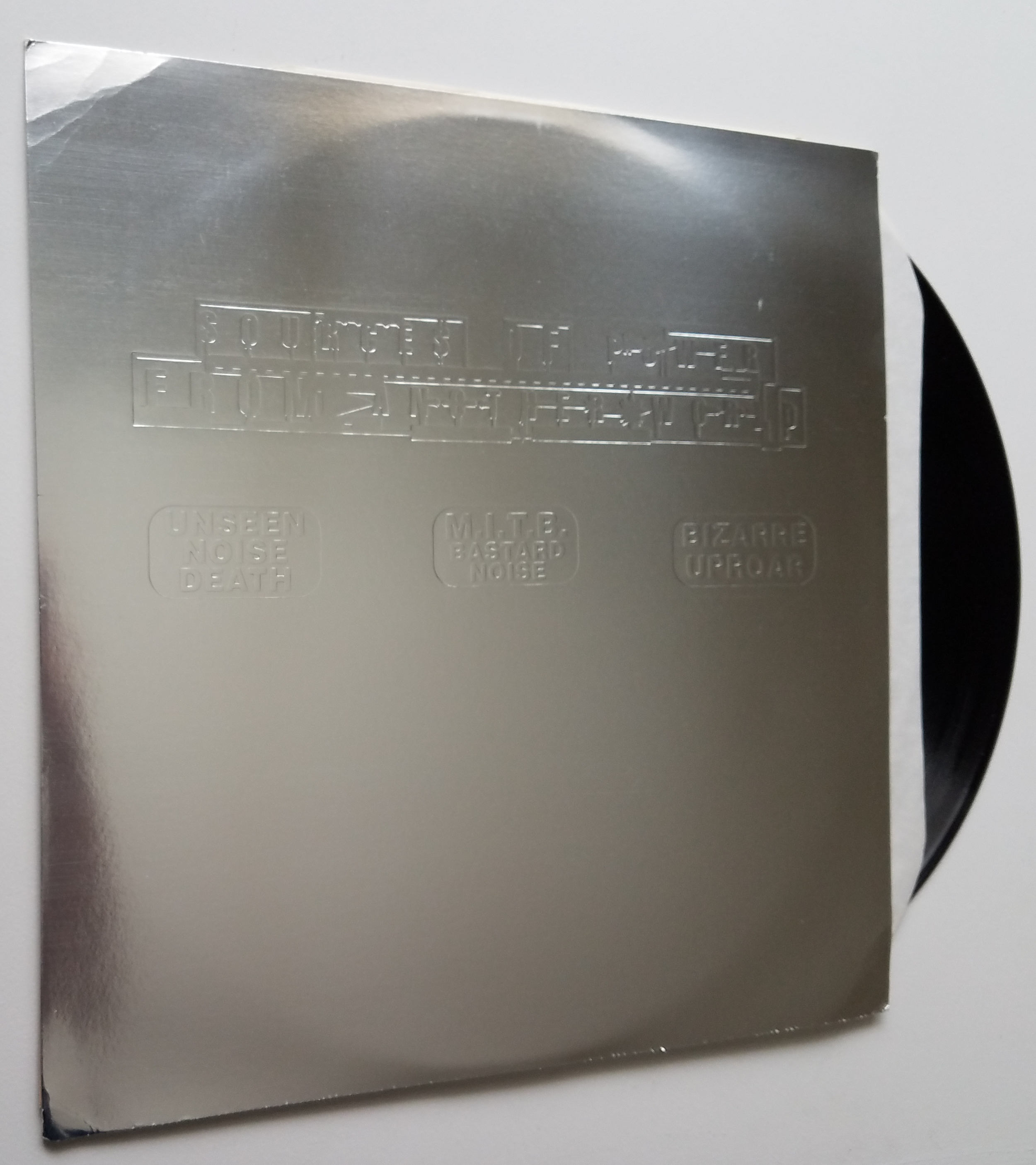 Unseen Noise Death / M.I.T.B. Bastard Noise / Bizarre Uproar - Split LP