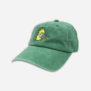 LUCKY GREEN DAD HAT