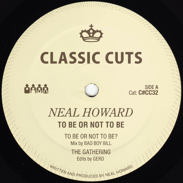 Neal Howard ‎– To Be Or Not To Be (Clone Classic Cuts)