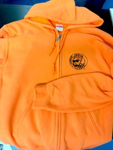 Radioactive Chickenheads - Carrot Topp Zipper Hoodie