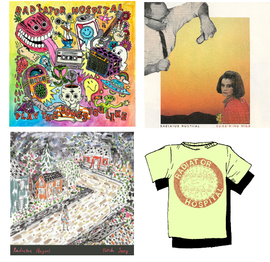 Three LPs and a Smile Tee