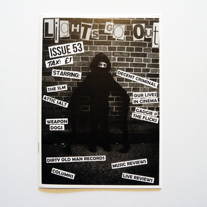 Lights Go Out Zine - #53 and back issues