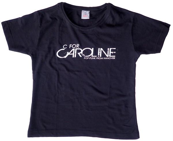 C FOR CAROLINE POP-PUNK GIRL TEE