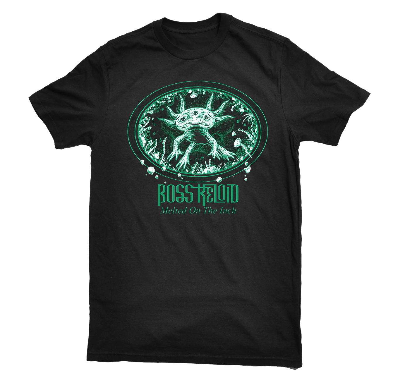 Boss Keloid - Melted On The Inch 'Axolotl' shirt PREORDER