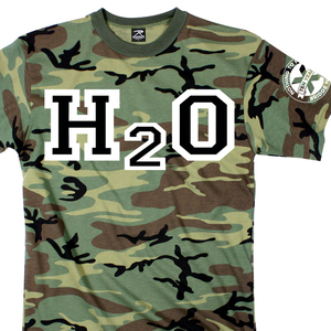 H2O 'Nothing To Prove Camo' T-Shirt