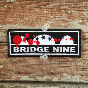 Bridge Nine Embroidered Patch