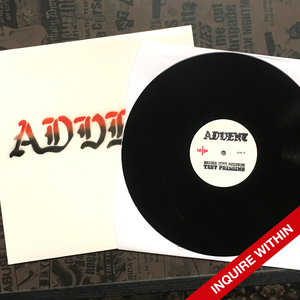 Advent 'Pain & Suffering' Test Pressing