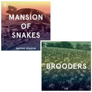 CPWM010 MANSION OF SNAKES 'Mating Season' /  BROODERS 'Lie'