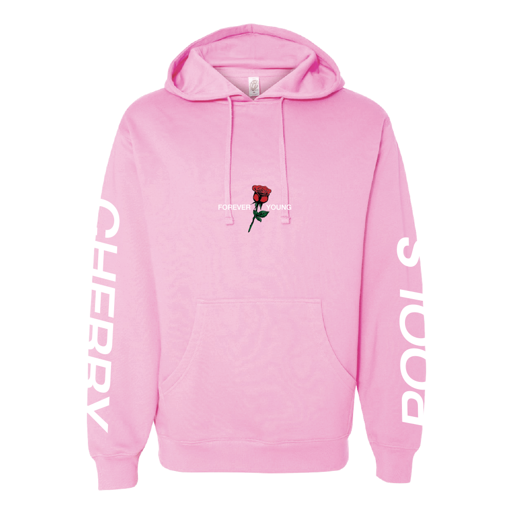 Forever Young Hoodie - Light Pink