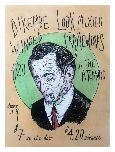 Dikembe / Look Mexico / Frameworks / Winded / Casey Crawford - 4/20 at The Atlantic