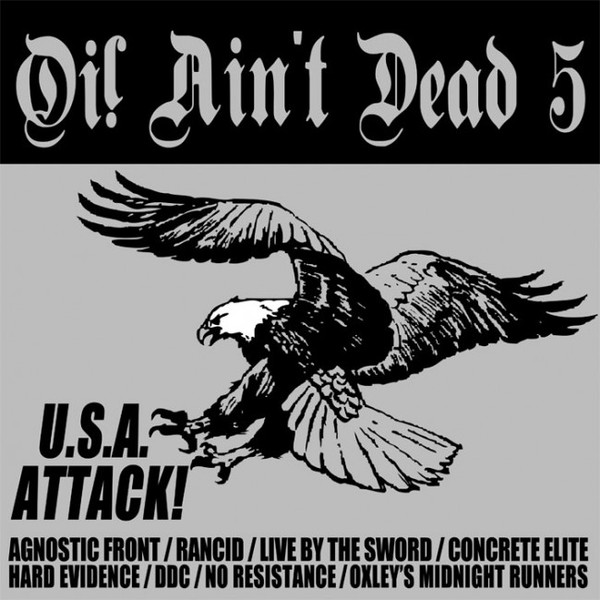 v/a - Oi! Ain't Dead 5 - USA Attack! LP