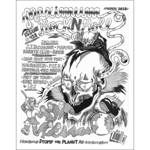 MAXIMUM ROCKNROLL #418 & back issues