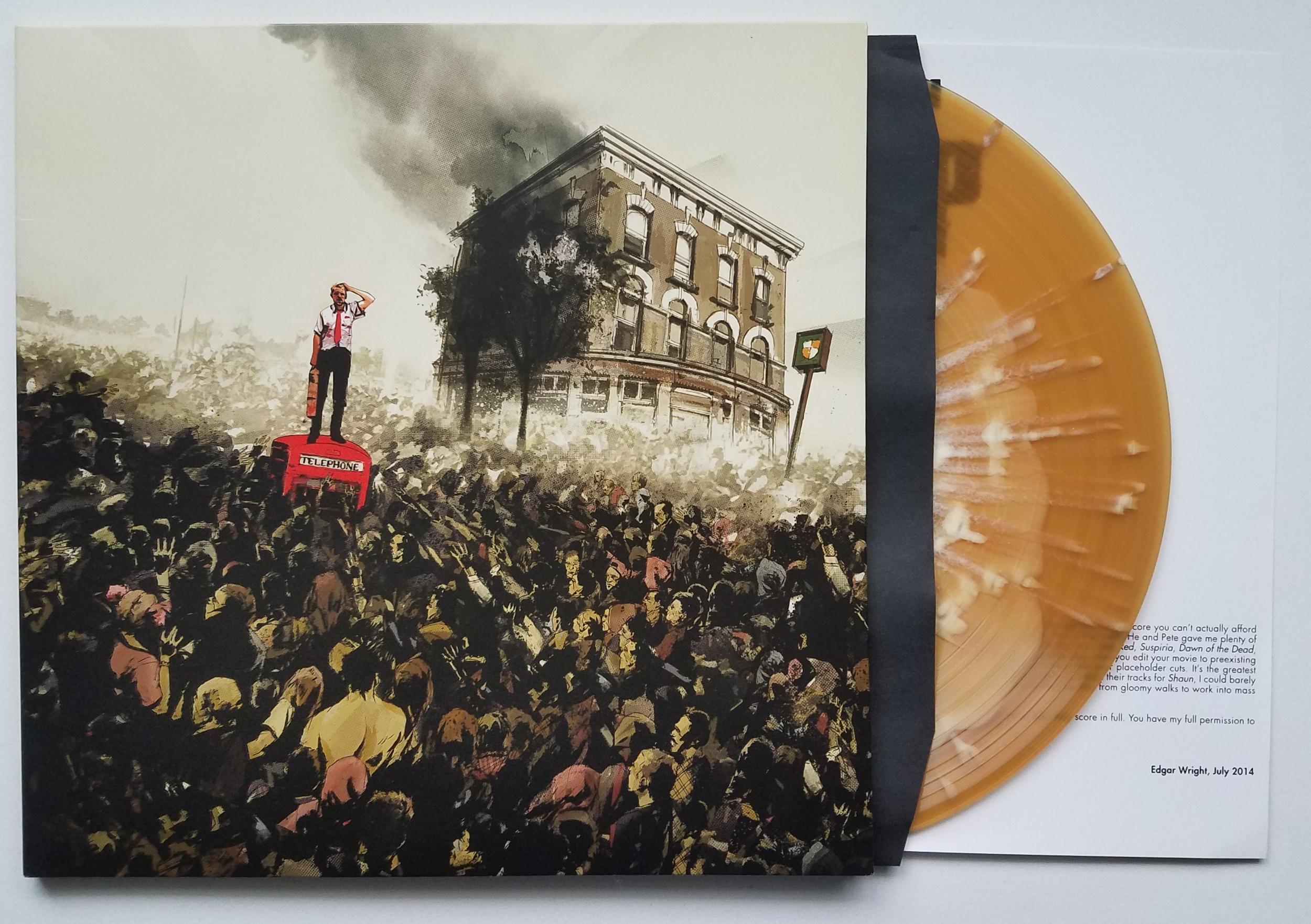 Shaun Of The Dead Original Soundtrack by Daniel Mudford & Pete Woodhead LP (Winchester Ale Variant)