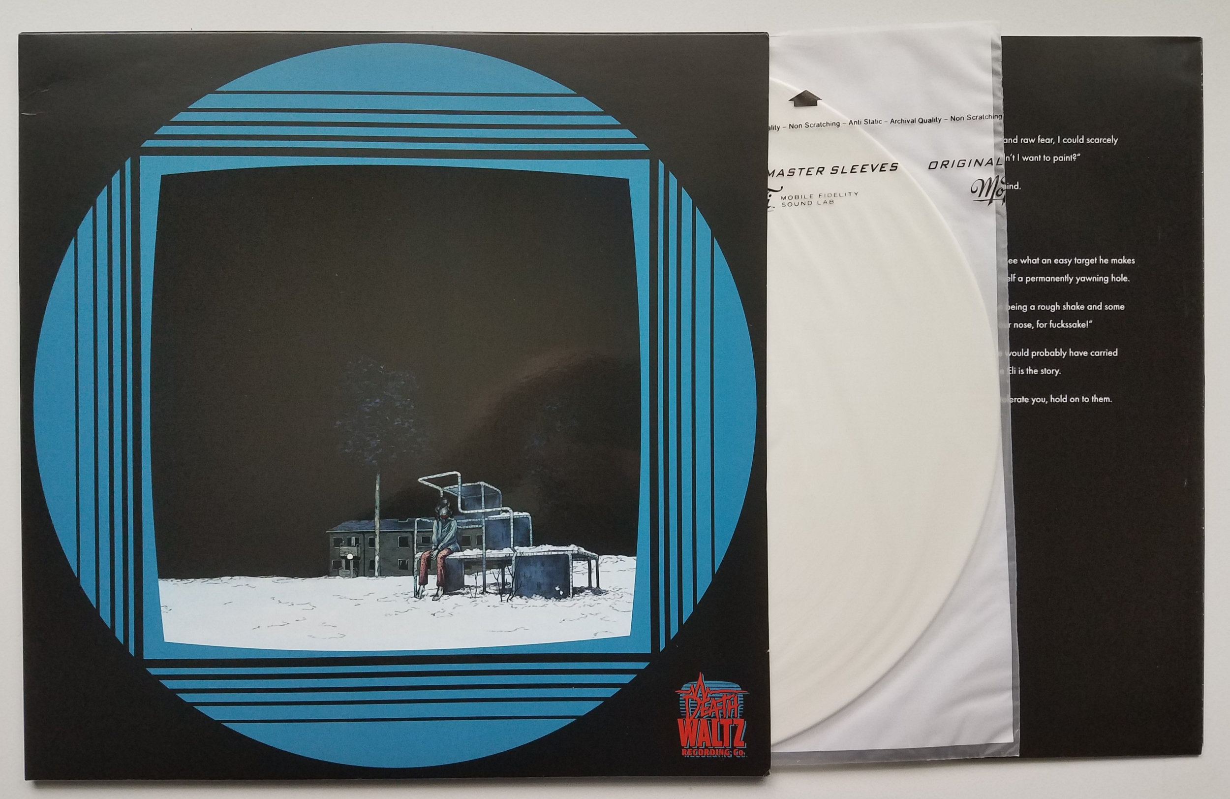 Let The Right One In Original Soundtrack by Christopher Johan Soderqvist LP (White Vinyl)