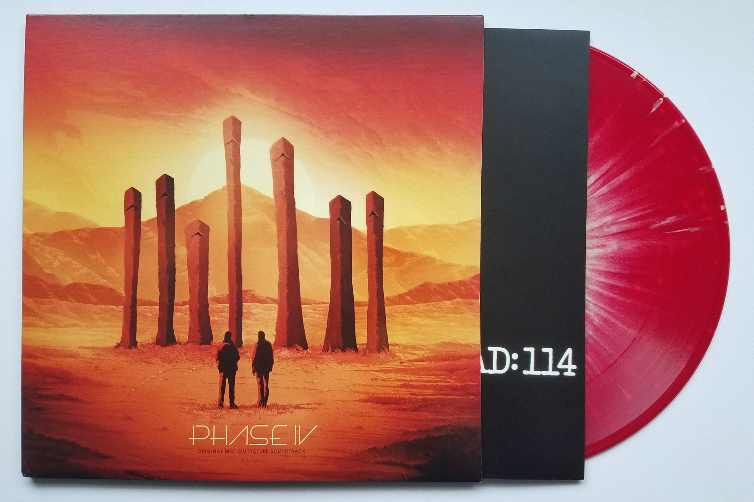 """Phase IV Original Soundtrack by Brian Gascoigne LP (""""Celestial Event"""" Red w/ Yellow Splatter - Subscriber Variant)"""