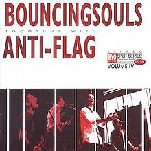 Bouncing Souls / Anti Flag split