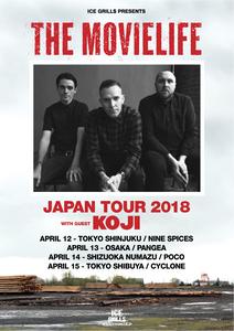 The Movielife with Koji - Japan Tour 2018 Ticket