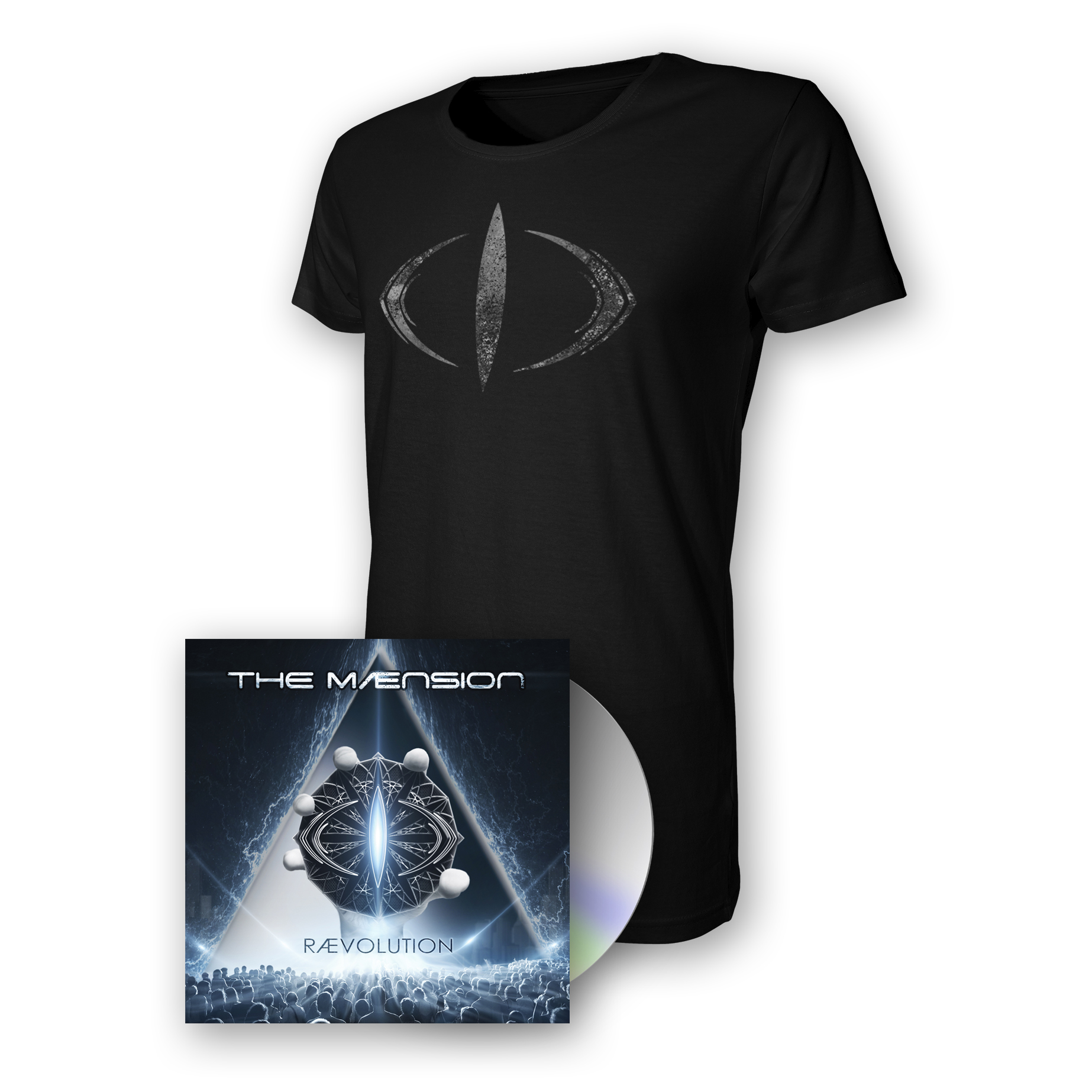 RÆVOLUTION CD & T-SHIRT BUNDLE + RIØT ACCESS PASS