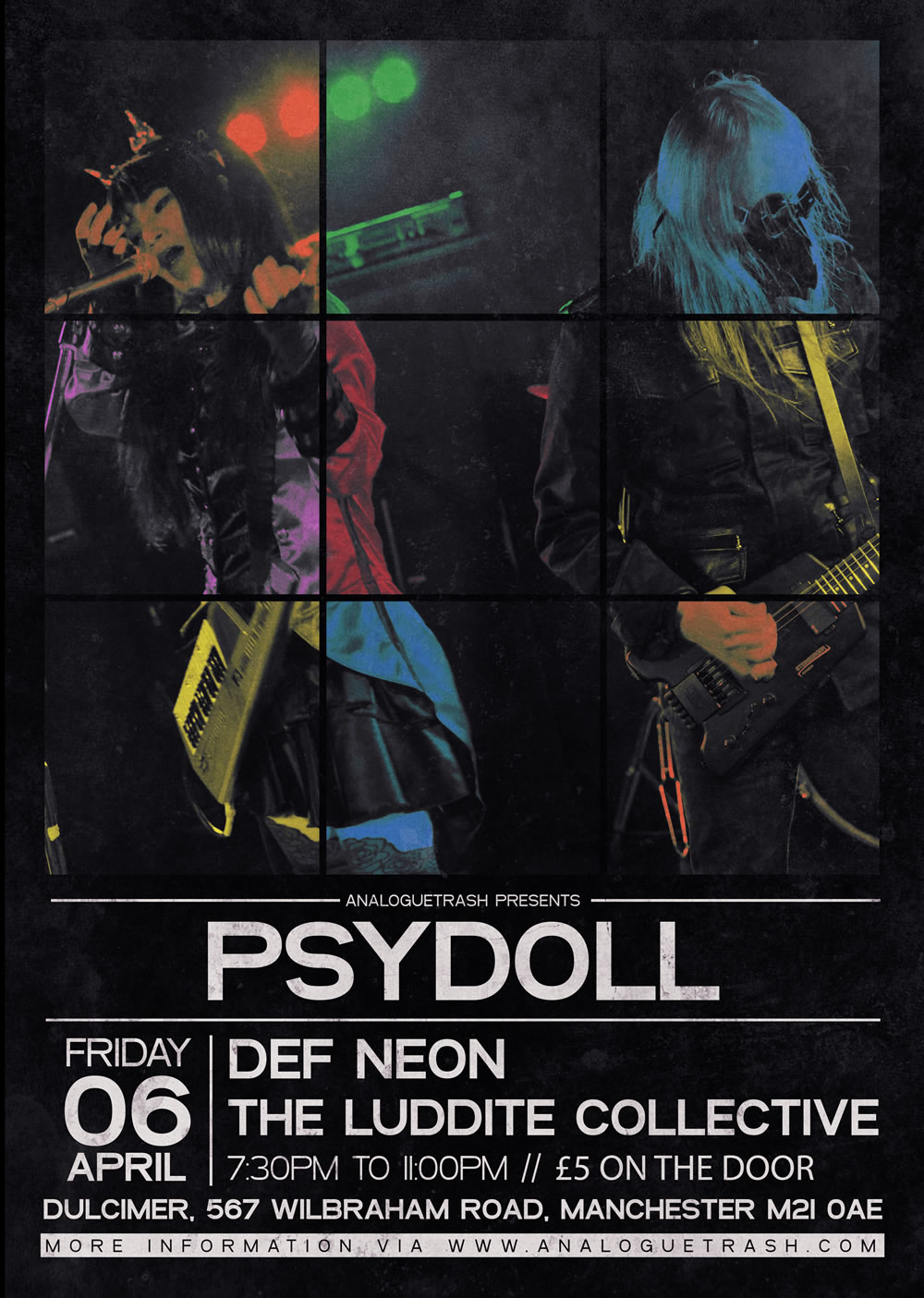 Psydoll / DEF NEON / The Luddite Collective