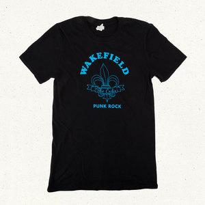 Blue Fleur-de-Lis Wakefield T-Shirt