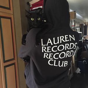 Lauren Records Record Club Hooded Sweatshirt