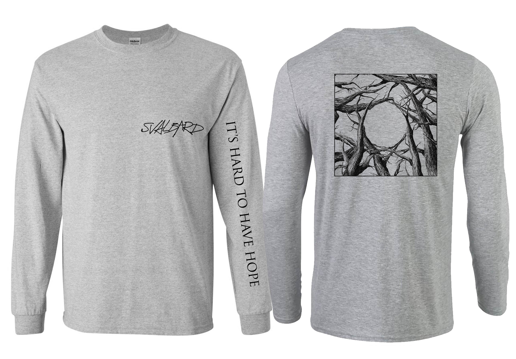Svalbard - It's Hard to have longsleeve