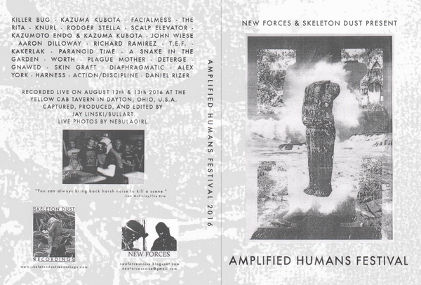 Amplified Humans Festival DVD