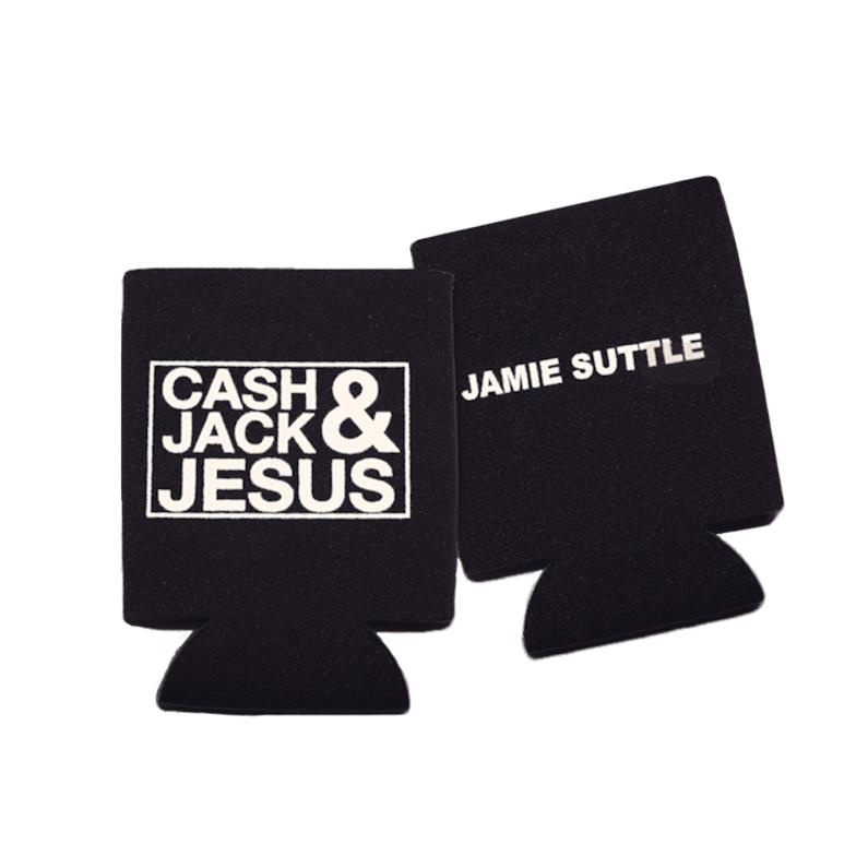 Cash, Jack & Jesus Koozie