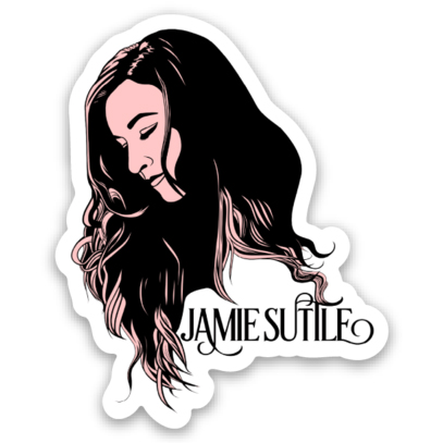 Jamie Suttle Pop Art Sticker
